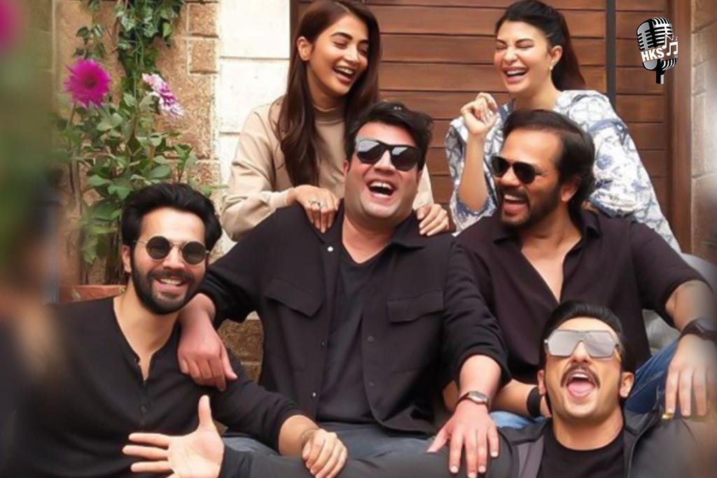 Varun Sharma celebrates his Birthday with Ranveer Singh, Varun Dhawan, and therefore the team of Cirkus.